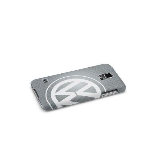 Coque VOLKSWAGEN Logo pour Samsung Galaxy S5 grise