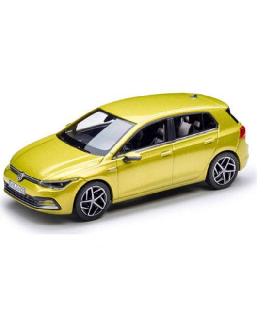Miniature VOLKSWAGEN Golf 8 jaune 1/43ème