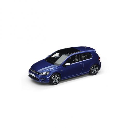 Miniature VOLKSWAGEN Golf R (A7) 2014 bleu lapiz métallisé 1/43ème