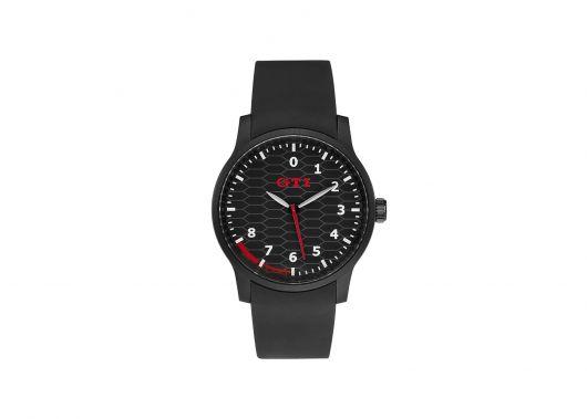 Montre VOLKSWAGEN GTI bracelet plastique noir