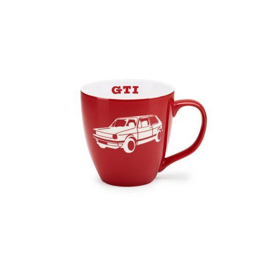 Mug porcelaine VOLKSWAGEN GTI rouge