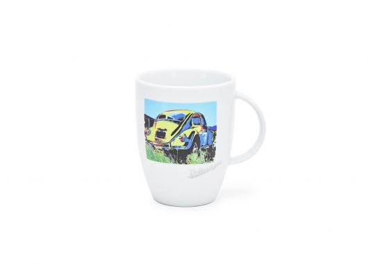 Mug porcelaine VOLSWAGEN Coccinelle POP ART