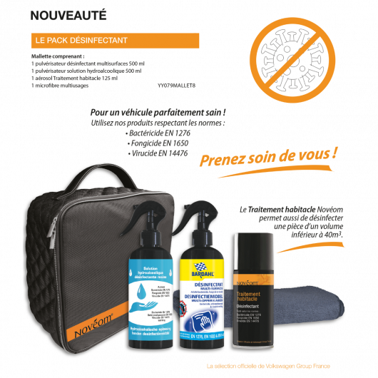 Pack désinfectant