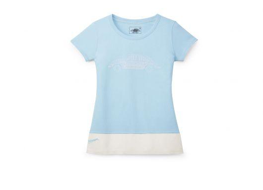 T-shirt VOLKSWAGEN Coccinelle bleu femme