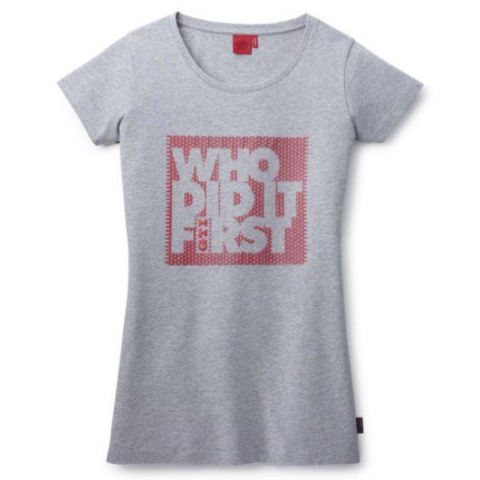 T-shirt VOLKSWAGEN GTI gris pour femme