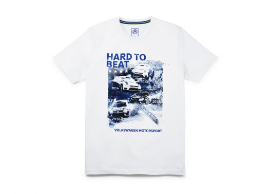 T-shirt VOLKSWAGEN Motorsport hard to beat homme