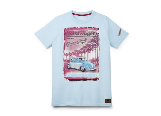 T-shirt VOLKSWAGEN orange county homme