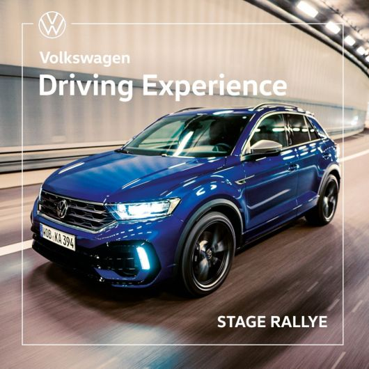 Volkswagen Driving Experience - Stage Pilotage Rallye sur T-ROC R - Circuit de l'Ouest Parisien (28)
