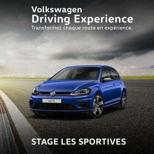 Volkswagen Driving Experience - Stage Les Sportives - Circuit de Géoparc (88)