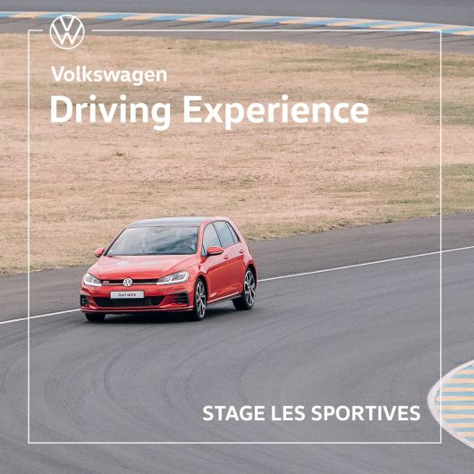 Volkswagen Driving Experience - Stage Les Sportives - Circuit de Lohéac (35)